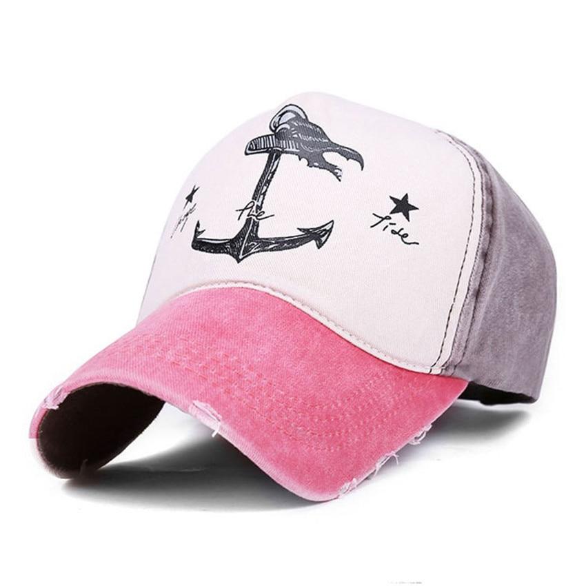 Prix pour Snapback casquette de baseball pour les femmes pirate ancres d'été casquette de baseball solaire occasionnel hommes hip hop réglable chapeau