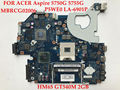 High quality laptop motherboard for ACER Aspire 5750G 5755G P5WE0 LA-6901P MBRCG02006 GT540M 2GB 100% Fully tested