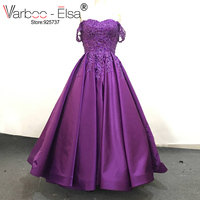 VARBOO ELSA Vestido De Festa Sexy Off Shoulder Evening Dresses Women Special Occasion Prom Gown Sweetheart