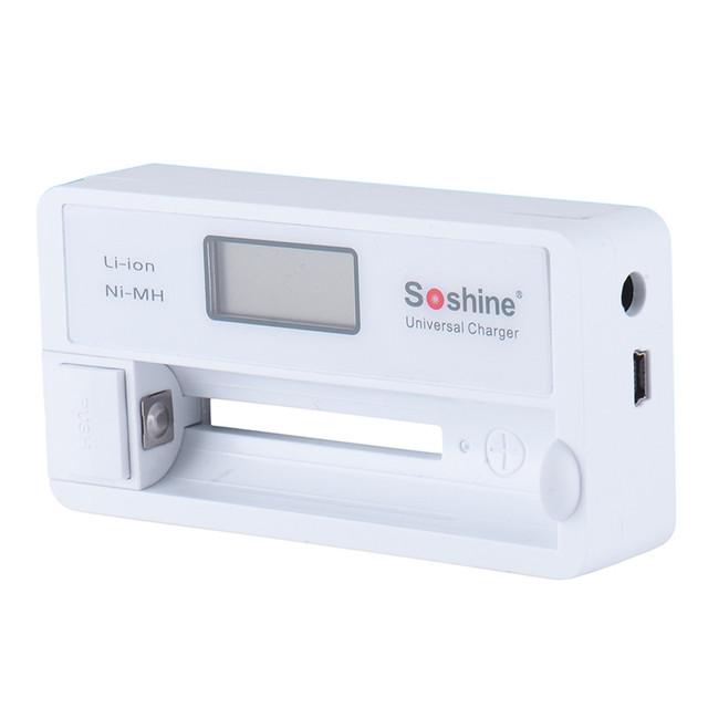 Universal Battery Charger Digital LCD Display+USB Cable For LI-ion 18650 16340 CR2 CR123 Ni-MH EU US Plug Ni-MH AA AAA with box