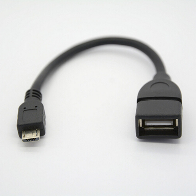 2019 NEW Micro USB OTG Cable Data Transfer Micro USB Male To Female Adapter For Samsung HTC Android