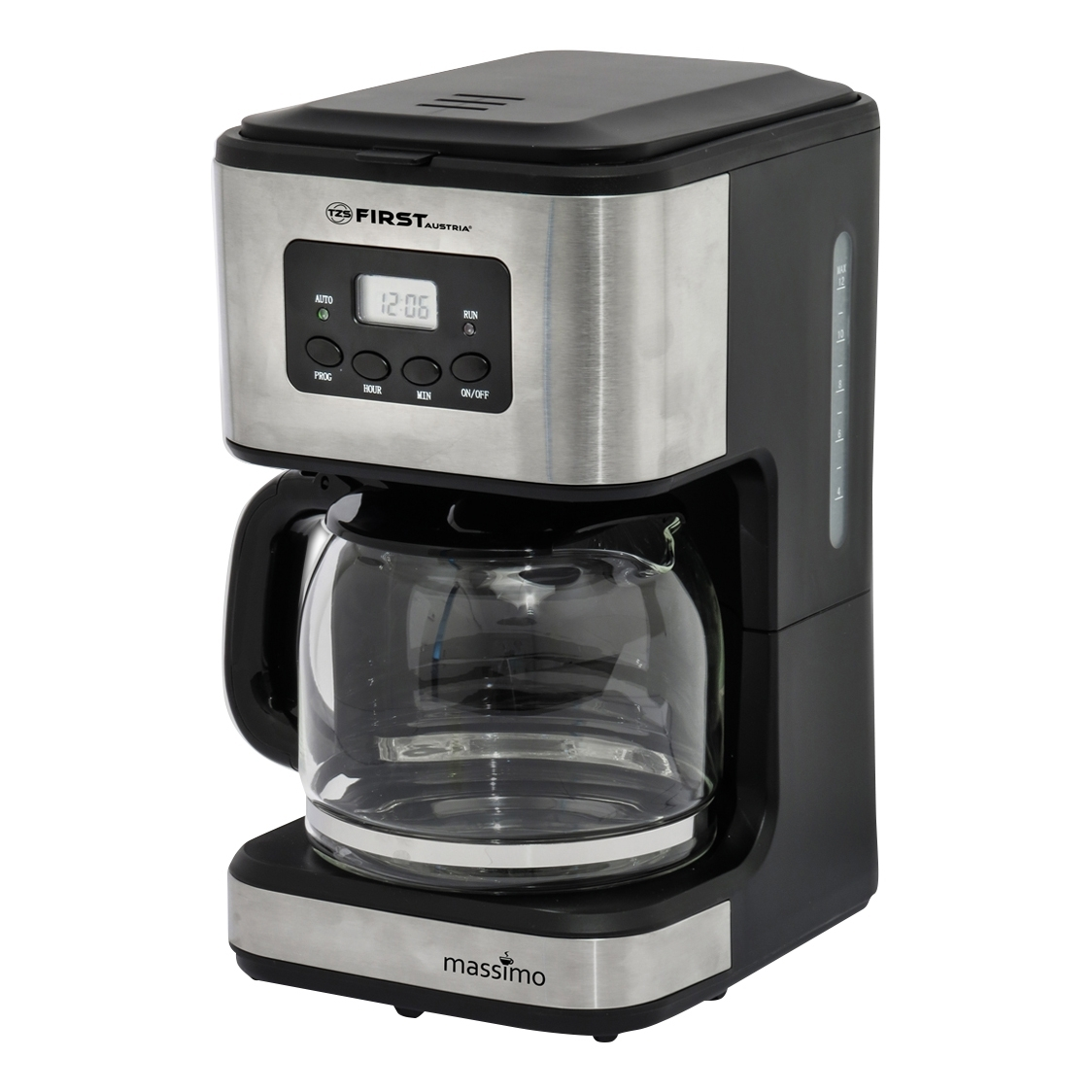Coffee maker FIRST FA-5459-4 Grey борьба нят нам