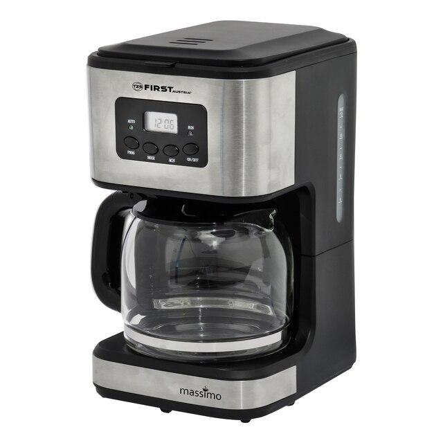 Кофеварка FIRST FA-5459-4 Grey (Кофеварка капельная, мощность 900 Вт, емкость 1.2 л, поддержание температуры, фильтр)