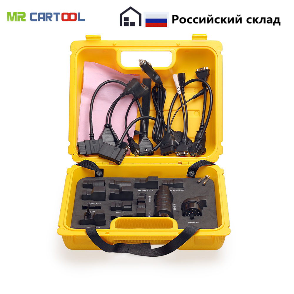 Launch X431 Yellow Box Car Diagnostic Cable Connector 20 pcs Adapter Interface For Easydiag Mdiag iDiag Diagun IV 5C X431 V Pad накладной светильник eglo vento 2 96365
