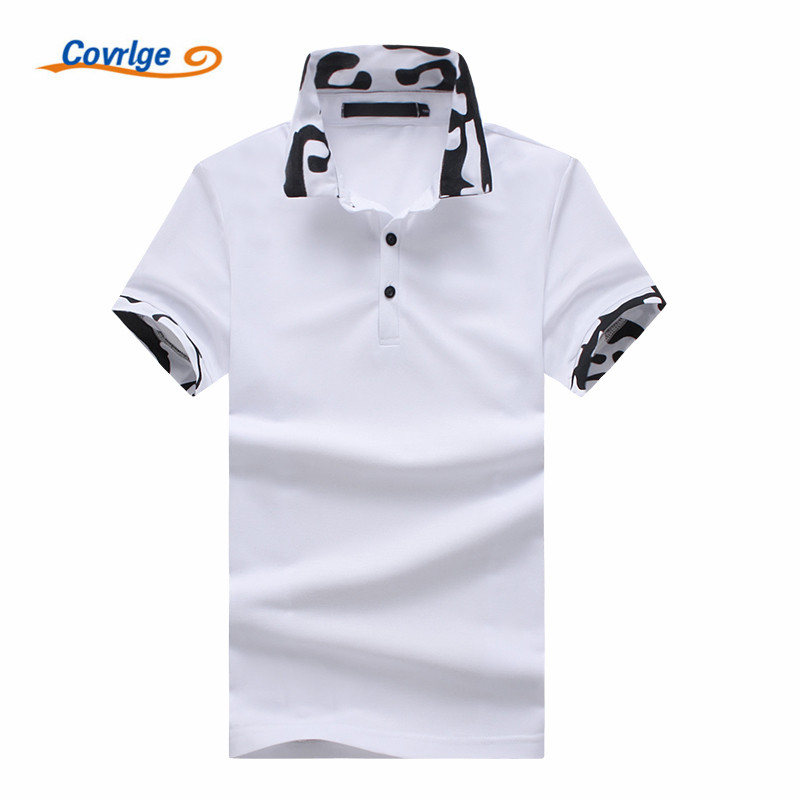Covrlge Newest Designer 2018 Fashion Brand Male   Polo   Shirt Short-Sleeve Shirt Men   Polo   Slim Fit Shirts Casual   Polo   Homme MTP067