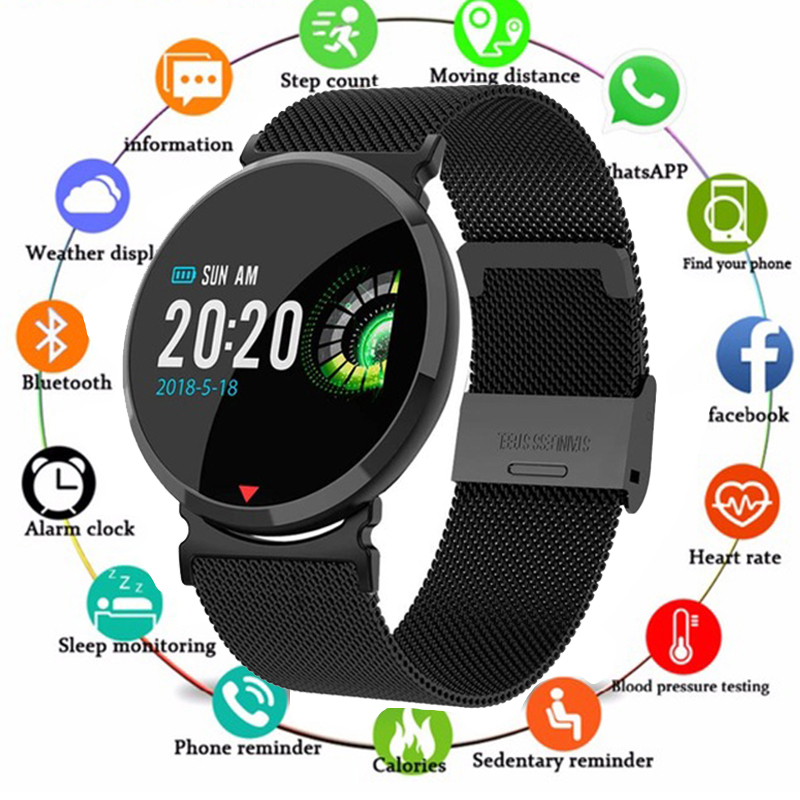 New Smart watch Waterproof Heart Rate Sleep Monitor Blood Pressure Women men Clock Smartwatch Wristband For Facebook Android IOSNew Smart watch Waterproof Heart Rate Sleep Monitor Blood Pressure Women men Clock Smartwatch Wristband For Facebook Android IOS