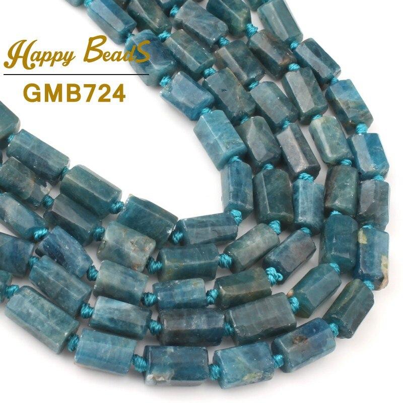 """NOUVEAU 10 mm Bleu Clair Aigue-marine Gemme Bracelet Stretch Bracelet 7.5 /""""AAA"""