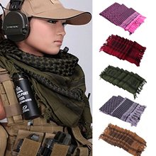 New Arrival Army Military Tactical Keffiyeh Shemagh Arab Scarf Shawl Neck Cover Head Wrap Accessories