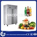1000L Edelstahl Kommerziellen Küche Gefrierschrank-in Gefriergeräte aus Haushaltsgeräte bei