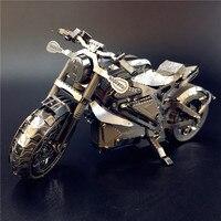 AVENGER MOTOCICLETA NANYUAN I22203 Nivel de Colección de Rompecabezas 3D Modelo de Ensamblaje de Metal 1:16 2 Hojas Souptoys regalos Creativos
