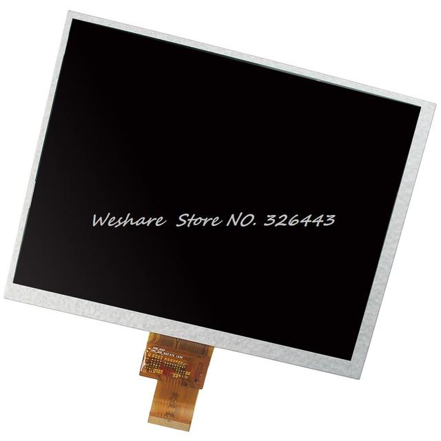 "Nova marca de 8.0 ""Display LCD HJ080IA-01E M1-A1 TFT Digitador Da Tela de Toque 1024*768 de 40 Pinos Para U9GT3-3 Tablet LCD"