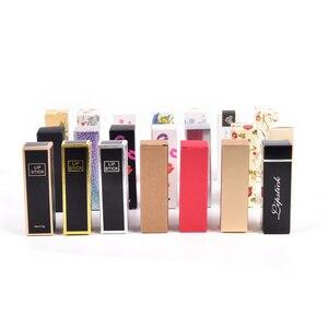 Image 5 - Caja de cartón de Tubo de bálsamo labial embalaje DIY lápiz labial