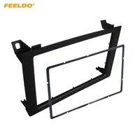 FEELDO Car 2Din Audio Facia Panel Frame Adapter for SAAB 9 3 Stereo Fascia Dash Plate Frame Trim Installation Kit #HQ3463