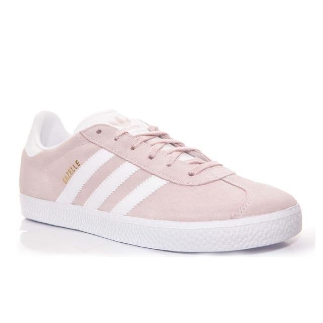 95f2023a6d6 Sneakers BY9544 Zapatillas Adidas Gazelle Rosa y Blanco Niña en ...