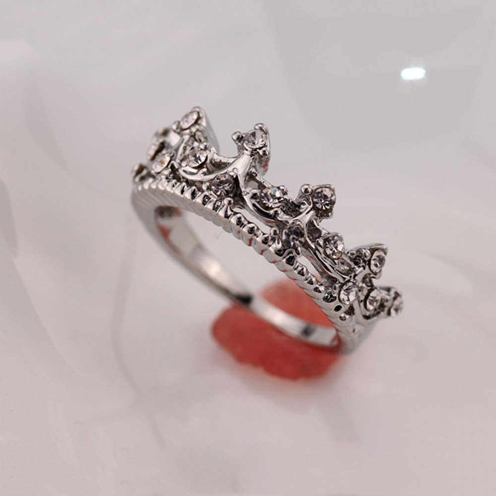 setgold queen high queens decorated gold engagement crown quality king with zircon product set ringcrown rings silver ring queencrown