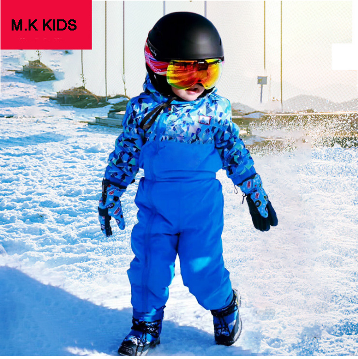 535952b03772 1 6Y Germany brand kids winter ski suits thick warm cotton padded ...