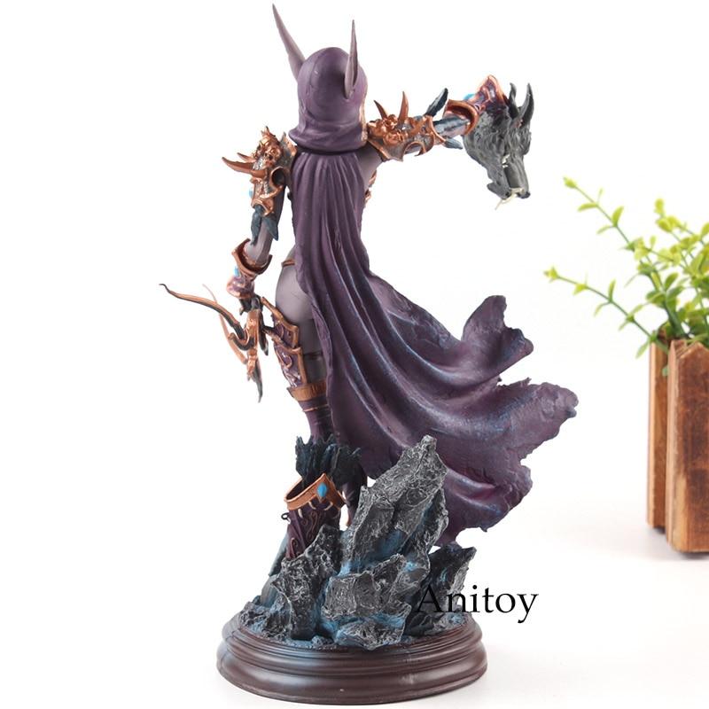 Cataclysm леди Сильвана Ветрокрылая фигурку ПВХ Коллекция Модель игрушечные лошадки