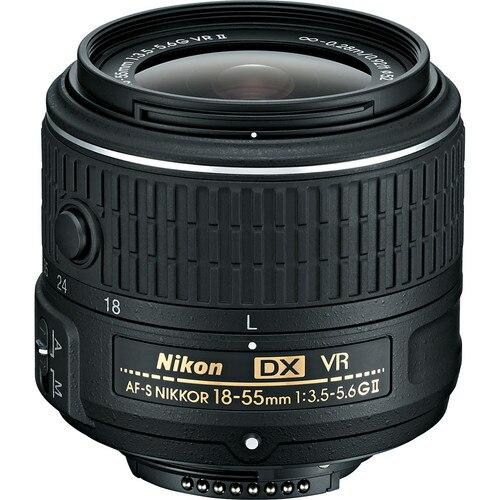 Prix pour Nikon 18-55mm f/3.5-5.6G VR II AF-S DX Nikkor Pour Nikon D3200 D3300 D5000 D5200 D5300 D5500 D80 D90 D7000 D7100 D7200