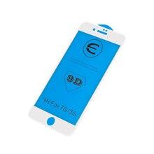 EQZ 9D radian de vidrio protector para iPhone 7 6 S 8 plus protector de pantalla de vidrio para iPhone XS. XR de vidrio templado 9 H de la película de vidrio
