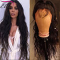 Brazilian Virgin Hair Lace Front Wig Natural Wave Full Lace Human Hair Wig For Black Women Glueless LaceFront Wig With Baby Hair
