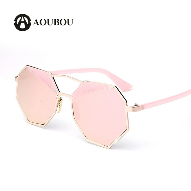 d85c1b0e128d Unisex Star Sunglasses Women Splice Eyebrows Style Mercury Mirror Lens  Glasses Fashion Trend Black Oculos De Sol Espelhado 6175