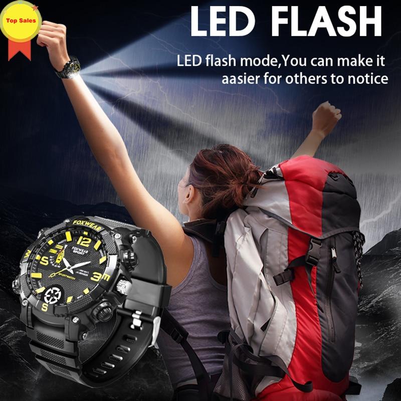 Smart professional Watch sport Wifi Sport Motion remote Camera heart rate monitor App Control IPX7 waterproof Led Lighting climb