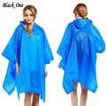נשים מעיל גשם אוניברסלי בגדי גשם גברים גשם פונצ 'ו מעיל בלתי חדיר chubasquero עמיד למים גשם קייפ מכסה סלעית Dropshipping