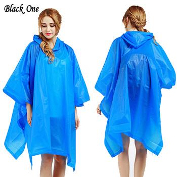 Płaszcz przeciwdeszczowy dla kobiet uniwersalny płaszcz przeciwdeszczowy dla mężczyzn poncho przeciwdeszczowe nieprzepuszczalne chubasquero wodoodporna peleryna przeciwdeszczowa z kapturem Dropshipping tanie i dobre opinie Black One Płaszcze Dorosłych Single-osoby przeciwdeszczowa Z tworzywa sztucznego RainWear Turystyka WOMEN Non-disposable Raincoat