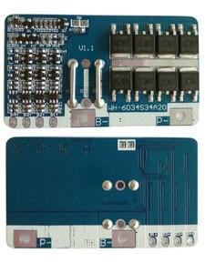 Image 4 - 3 s 20aリポリチウムポリマーbms/pcm/pcbバッテリー保護ボード用3 packs 18650リチウムイオンバッテリー携帯w/温度スイッチ