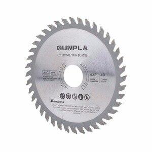 Image 3 - Lame de scie circulaire pour le bois dur et doux, en acier allié, lame de scie circulaire pour le bois dur et doux, 4 115 pouces, 3 pièces, 1/2x22*40T