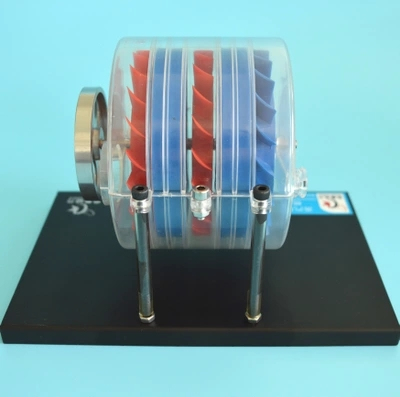 Multi-stage Steam Turbine Model Physics Laboratory Demonstrator Science Puzzle Toy Gift