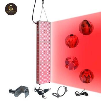 Amazon heißer verkauf rot licht therapie 660nm 850nm PDT rot therapie licht medizinische gerät low emf wert muscle entlasten