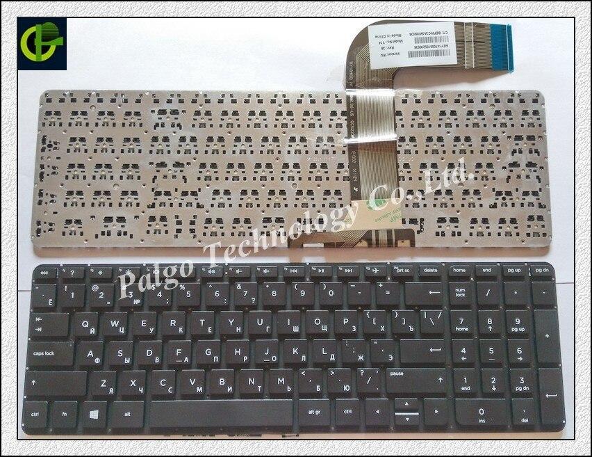 Clavier russe pour HP Pavilion 15-P 17-F 17-F000 17-F040 17-F115 15-p011st 15-p012st 15-p014st 15-p015st 15-p017st RU noir