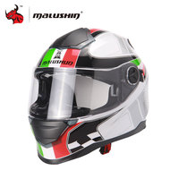 MALUSHUN Men Cascos Para Moto Flip Up Motorcycle Helmet Full Face Racing Helmets Capacete Casque Personality