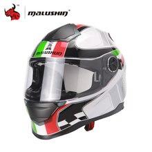 MALUSHUN Men Cascos Para Moto Flip Up Motorcycle Helmet Full Face Racing Helmets Capacete Casque Personality Moto Capacete