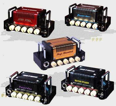 Hotone Audio Nano Legacy Micro Amp Mini Head Series - Heart Attack, - Muziekinstrumenten - Foto 2
