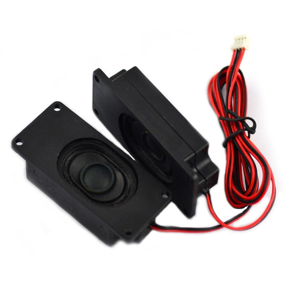 8ohm 2W Speaker for LCD TV - Black 70mm x 31m