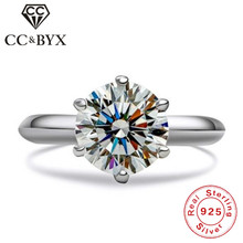 CC Fine Jewelry Classic Rings For Women Carat Fashion