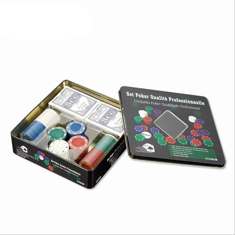 100PCS 포커 칩 세트 Circuito Integrado 포커 칩 14g 카지노 칩 포커 카드