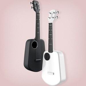 Image 5 - Populele 2 LED חכם סופרן יוקולילי קונצרט מxiaomi Bluetooth Ukulele 4 מחרוזות 23 אינץ לבן אקוסטית חשמלי גיטרה Uke