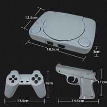 Game Extensible Mini Retro TV Video Game Console 2 Gamepad+1 Game Gun Build