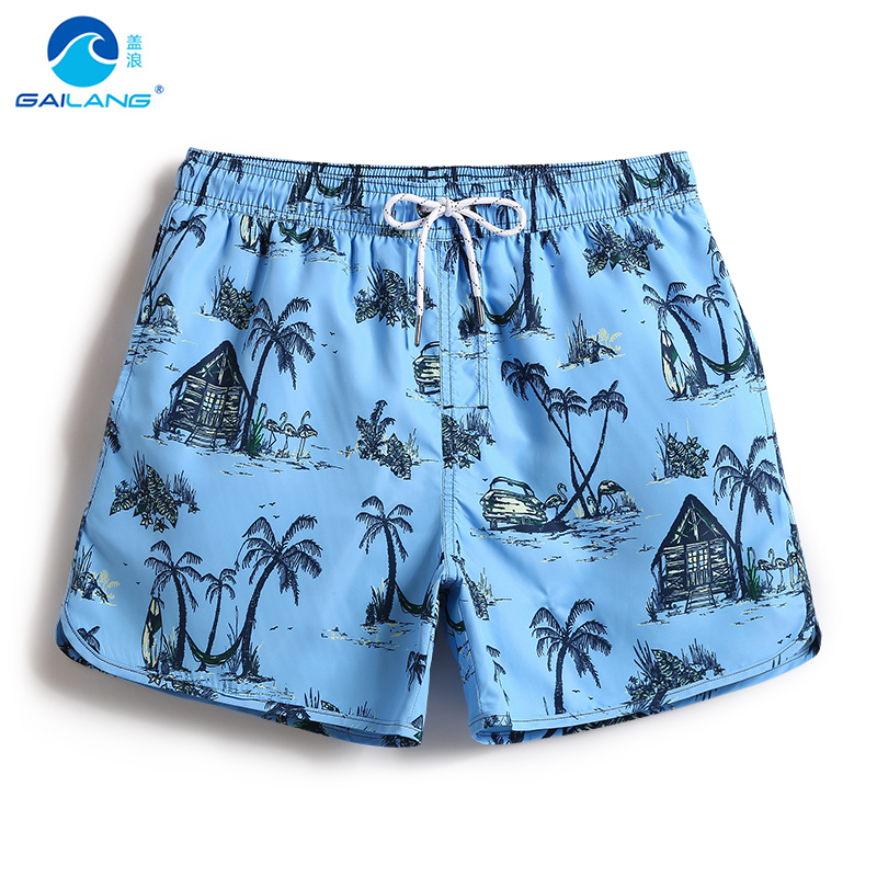 New Men's   board     shorts   bathing suit swimsuit liner quick dry surfing plavky beach   shorts   joggers loose trunks surfboard mesh