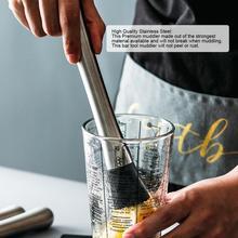 Практичный барный пестик из нержавеющей стали прочный Измельчитель льда молоток блендер для напитков