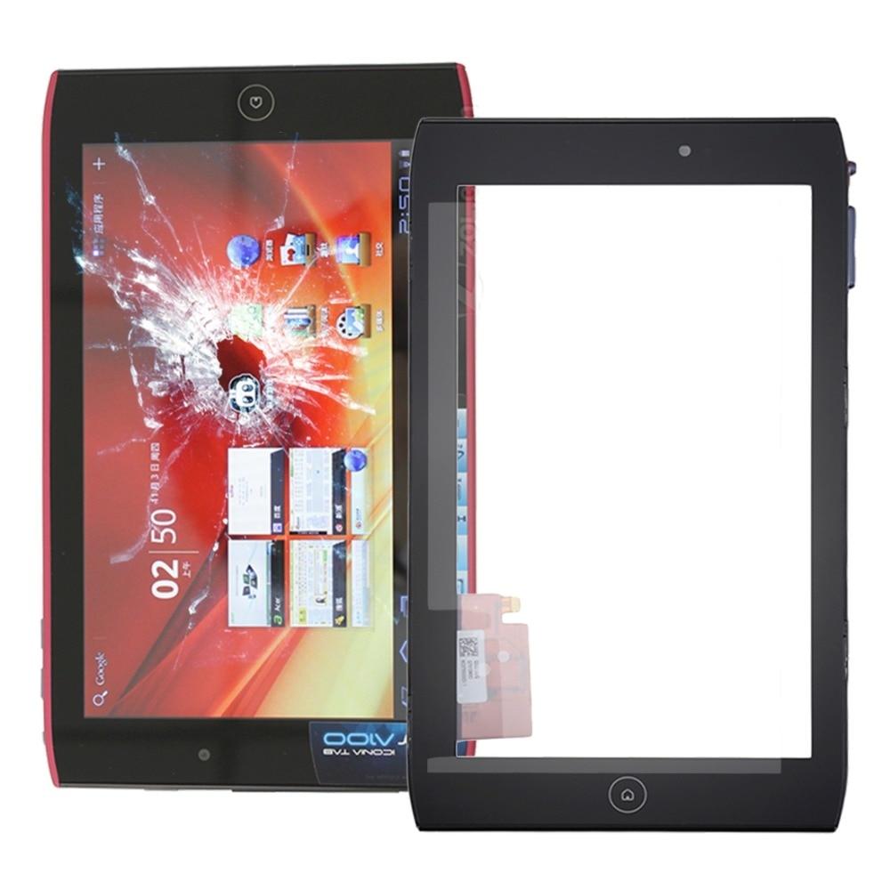 Touch Panel mit Rahmen für Acer Iconia Tab A100/A101