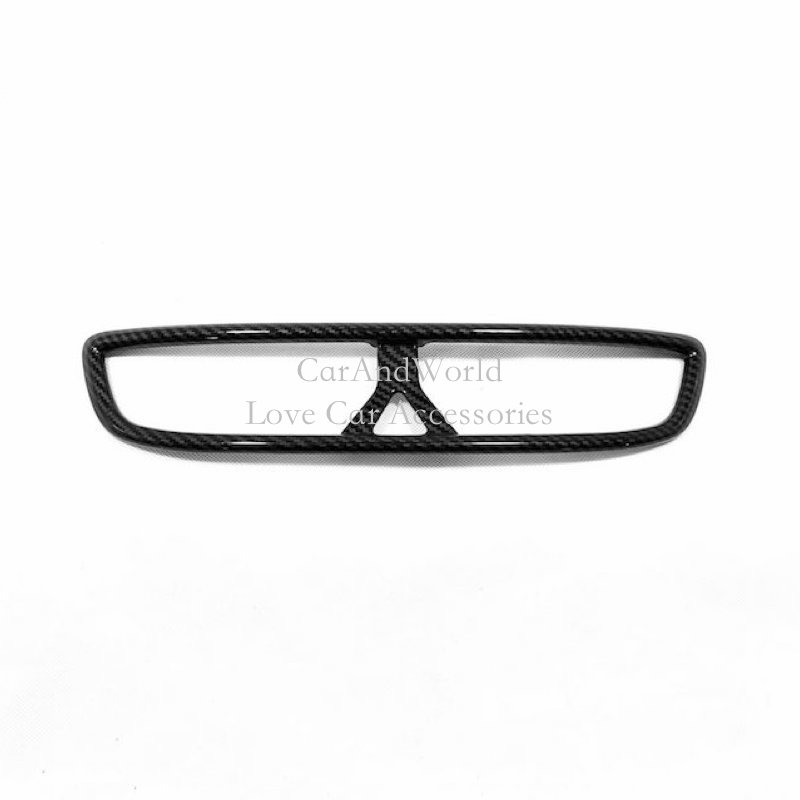 For <font><b>Hyundai</b></font> Tucson <font><b>2019</b></font> 2020 Center Console Air Condition Vent Outlet Cover Frame Trims Carbon Fibre Inner Car-styling Accessory image