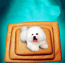 New Summer Multiuse Seat Pet Dog Cat Cooling Pad Mat Sleeping Bamboo Bed