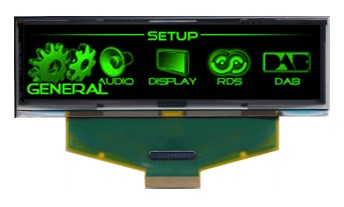 3.12 Inch GREEN OLED LCD Screen 256X64  OLED LCD LED Display Module With SSD1322 Drive IC For Arduino