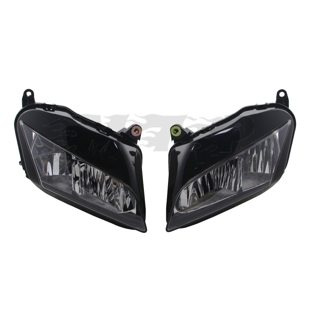 For Honda CBR600RR CBR 600 RR F5 2007 - 2012 Motorcycle Front Head Light Lamp Headlight Housing Cover CBR 600RR CBR600 RR 07 -12 motorcycle front upper fairing headlight holder brackets for honda cbr600rr cbr600 rr cbr 600 rr 2007 2008 2009 2010 2011 2012