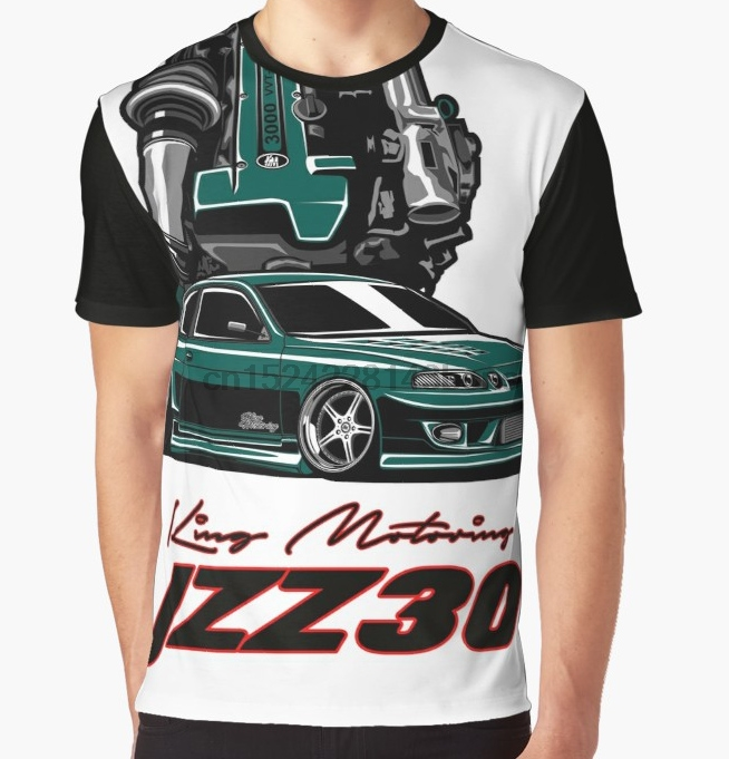 All Over Print T-Shirt Men Funy tshirt Toyota Soarer JZZ31 Short Sleeve  O-Neck Graphic Tops Tee women t shirt