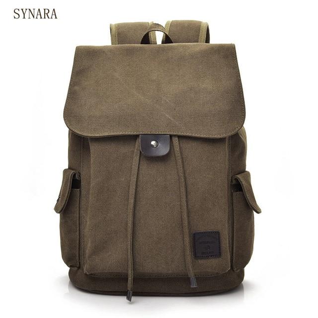7f7599359da7 Senkey style Men Backpack Vintage Casual Canvas Backpack School Bags For Male  Men s Large Backpacks For 14Inch Laptop Backpack